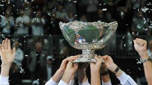 Trofeo de la Copa Davis.