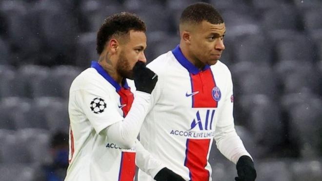Neymar habló de la comparativa entre Messi y su compañero Mbappé.