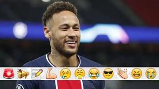 Neymar y el PSG avanzaron a semifinales de la Champions League.