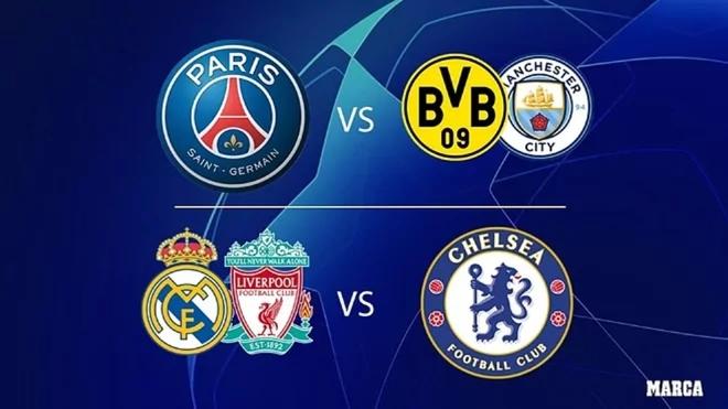 PSG y Chelsea son lso primeros clasificados a semifinales de la...