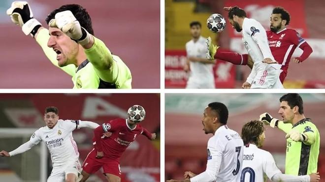 Los cuatro héroes del Real Madrid en Liverpool: Courtois, Nacho ...