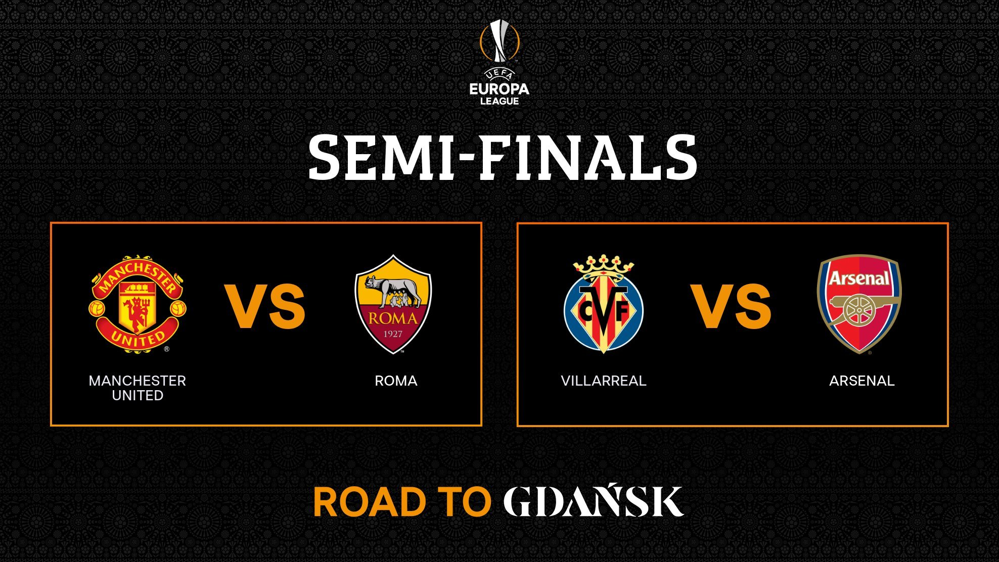 Europa League today: Semifinals Europa League 2021 ...