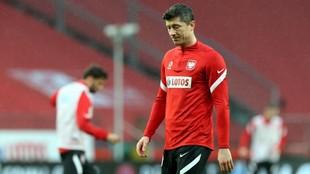 Lewandowski ya está recuperado.