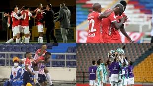 Nacional, América, Santa Fe y Junior, clasificados a la Copa...