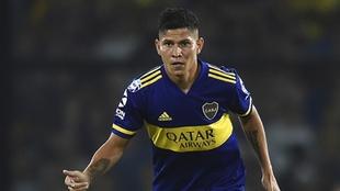 Jorman Campuzano, baja en Boca Juniors por coronavirus.