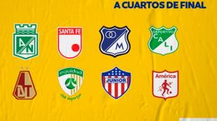 Los cuartos de final de la Liga BetPlay Dimayor.