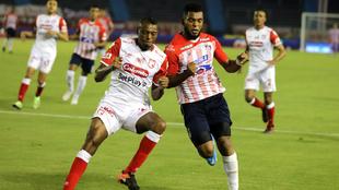 Junior y Sante Fe, doble enfrentamiento en Liga y Copa Libertadores.