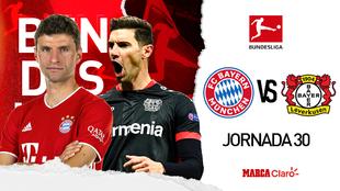 Bayern vs Leverkusen en vivo y en directo: transmisión gratis por...