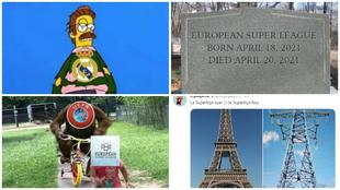 Los memes de la Superliga de Europa.