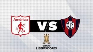 América vs Cerro Porteño: horario y dónde ver.