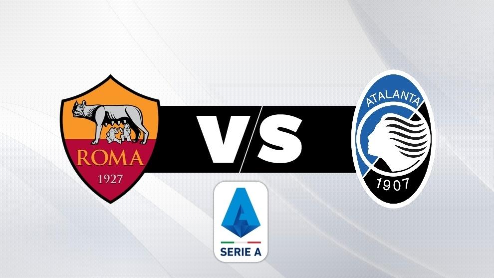 Roma vs Atalanta, en directo el fútbol italiano.