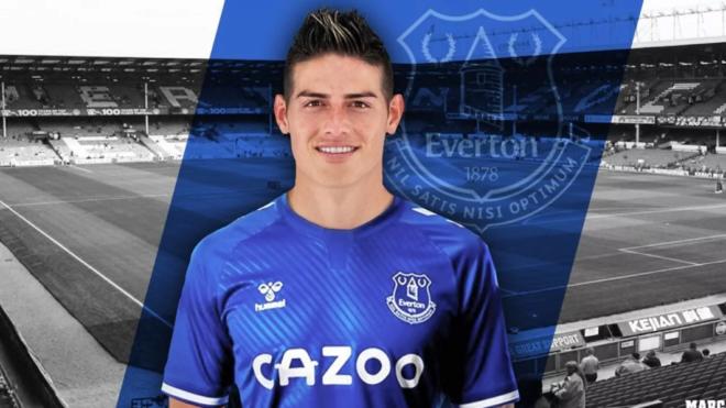 James, el Everton y Goodison Park.