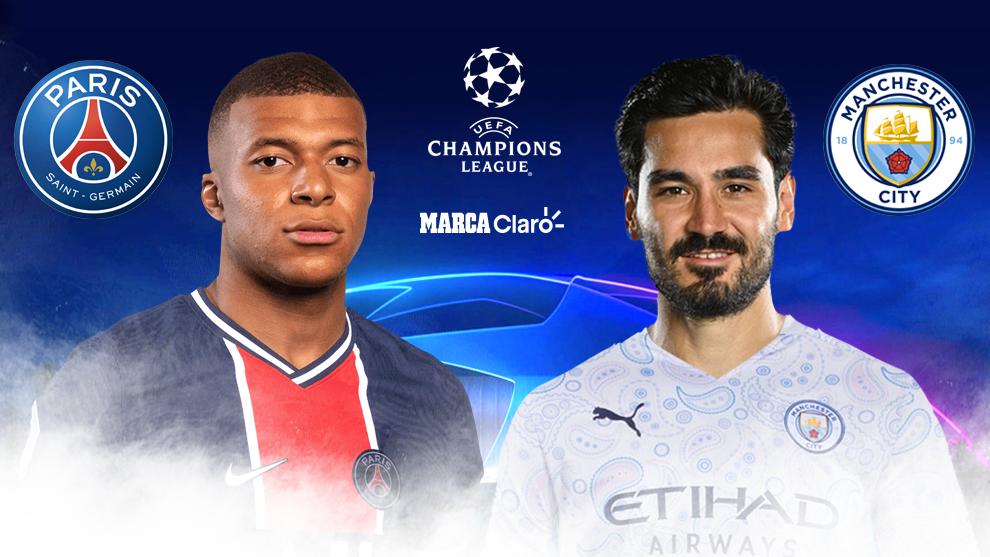 PSG vs Manchester City, en vivo el partido por la ida de las ...