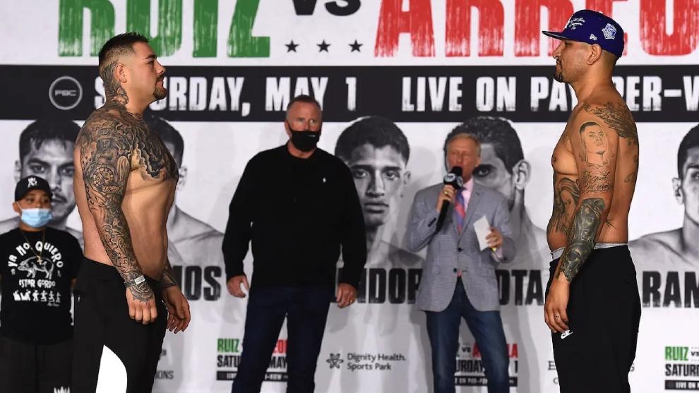 Andy Ruiz regresa al cuadrilátero para intentar recuperar sus tres...