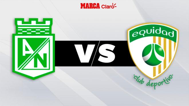 Nacional vs La Equidad: partido de Liga BetPlay en vivo y en directo.