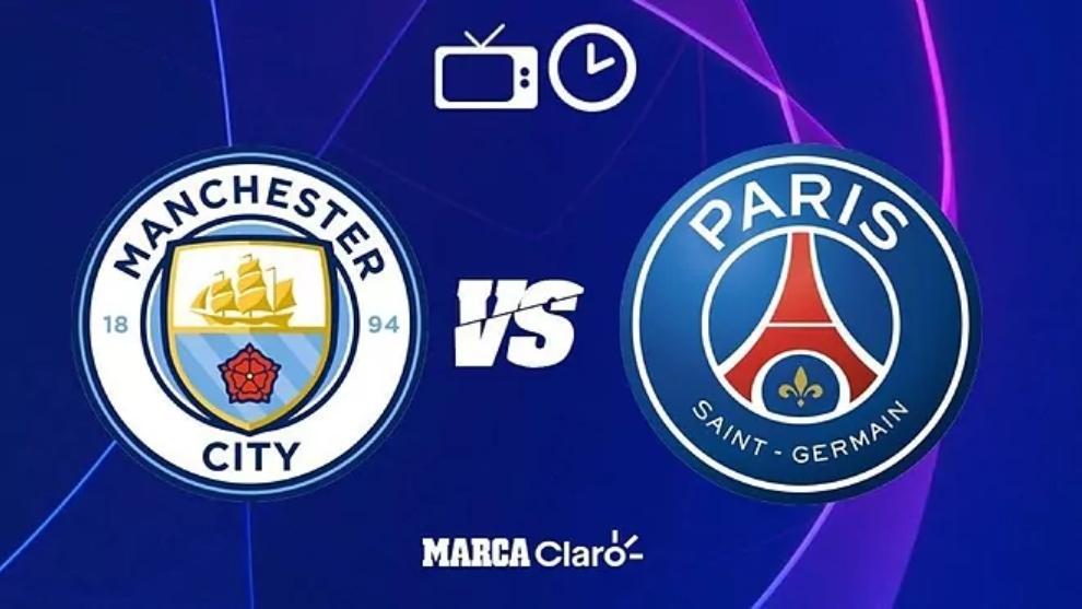 Manchester City vs PSG: horario y dónde ver por TV