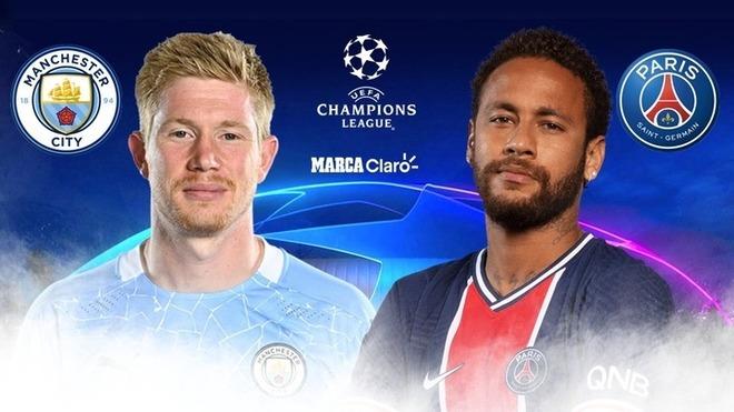 Manchester City vs PSG, en vivo por la Champions League: partido ...