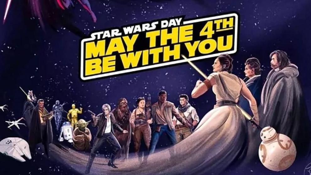 4 de mayo, día de Star Wars.
