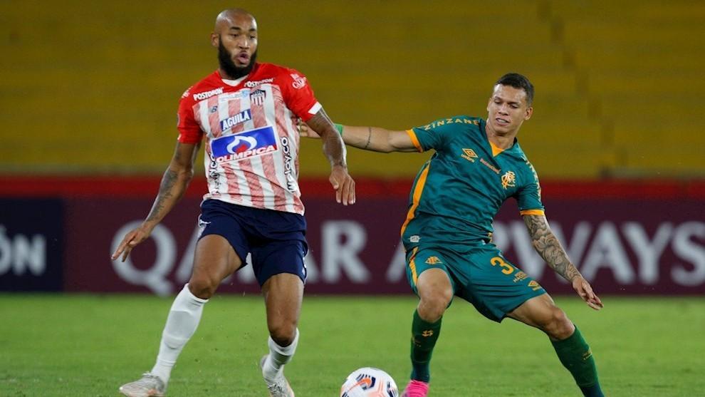 Junior y Fluminense empatan 1-1 en la fecha tres de la Copa...