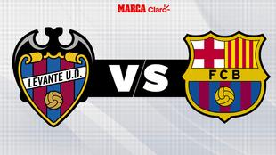 Levante vs Barcelona; liga española.