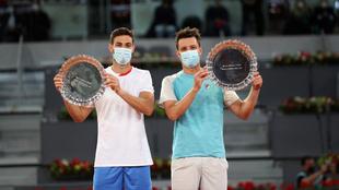 Granollers y Zeballos, ganadores de los dobles en Madrid.
