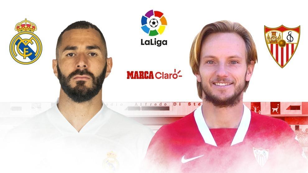 Real Madrid vs Sevilla, en vivo: partido de la jornada 35 de LaLiga ...