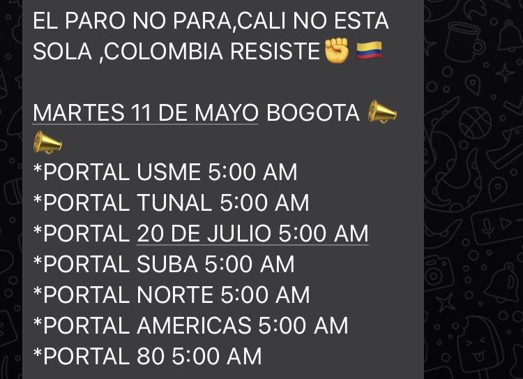 Colombia hoy: Paro Nacional Colombia 2021: Resumen y últimas noticias del 10 de mayo; así fueron las marchas y enfrentamientos en Bogotá, Cali y Medellín 1