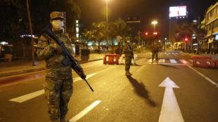 Toque de queda en las ciudades de Colombia.