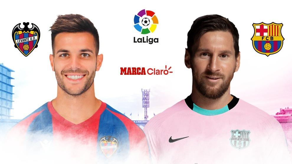 Levante vs Barcelona, en vivo: partido por la jornada 36 de LaLiga ...