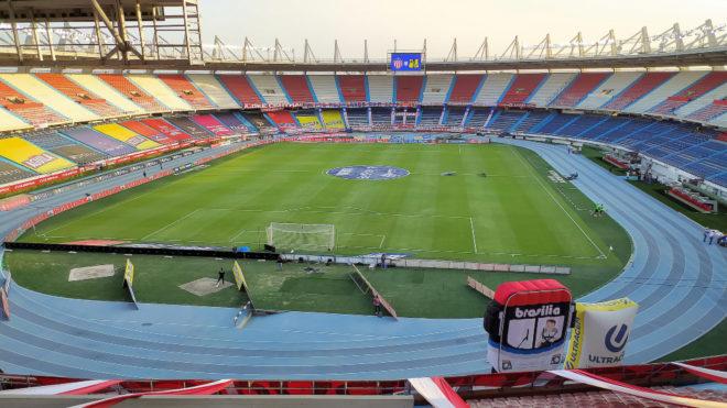 El estadio Metropolitano Roberto Meléndez, 'casa' de la Selección...