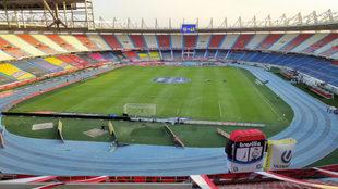 El estadio Metropolitano Roberto Meléndez, 'casa' de la...