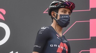 Egan Bernal en el Giro de Italia 2021