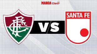 Fluminense vs Santa Fe, Copa Libertadores online.