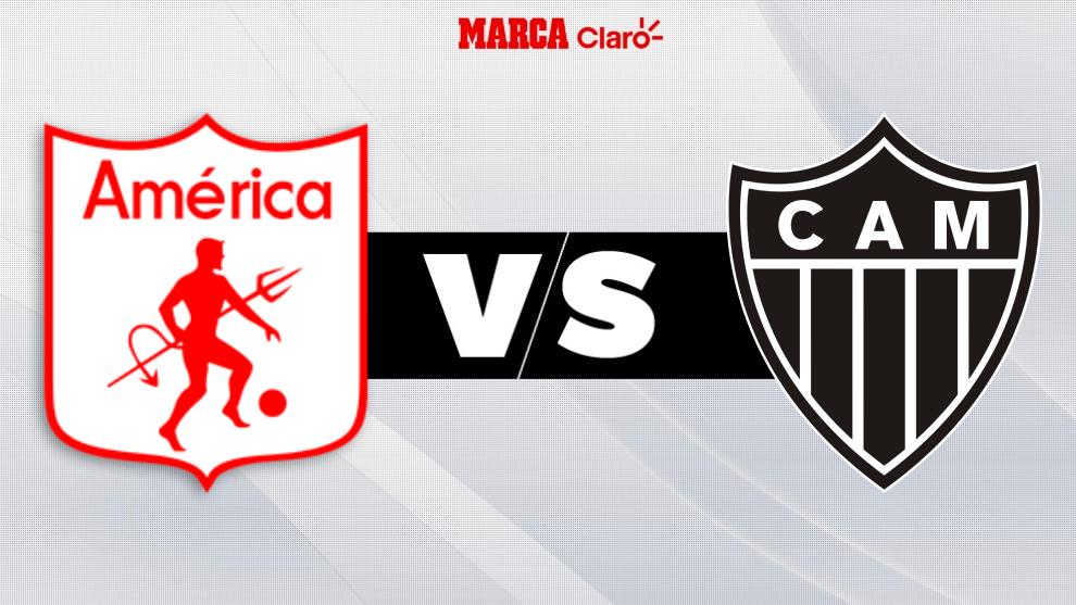 América vs Atlético Mineiro, en directo la Copa Libertadores.