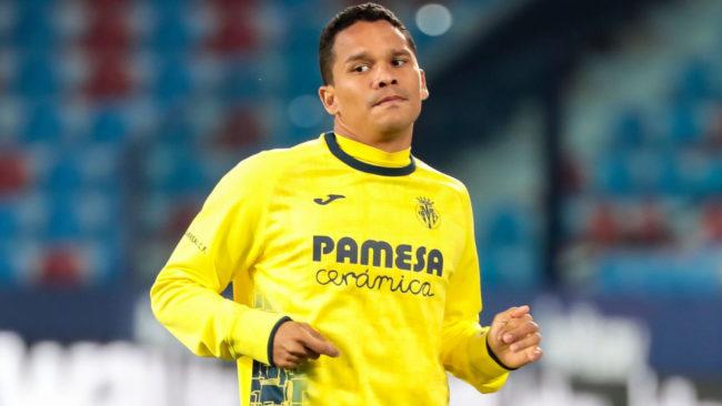 Carlos Arturo Bacca, delantero del Villarreal de España.