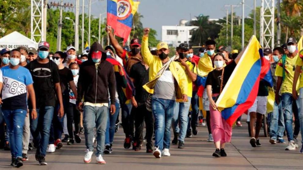 Paro Nacional hoy 18 de mayo, en vivo: últimas noticias de las protestas en  Colombia y enfrentamientos en Cali, Barranquilla y Bogotá   MARCA Claro  Colombia
