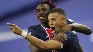 Mbappé lideró al PSG en la final de Copa conquistaba sobre el...