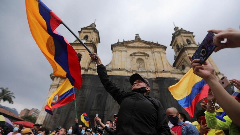 Paro Nacional Colombia 2021: Manifestaciones en Bogotá, Cali y...