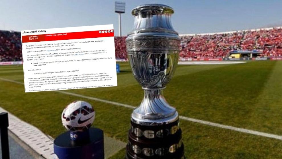 Se complica la Copa América para Colombia