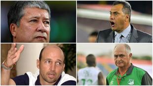 Cllage de Bolillo Gómez, Hernán Torres, Javier Álvarez y Pecoso...
