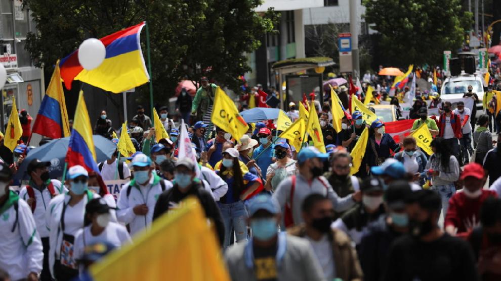 Paro Nacional hoy 21 de mayo, en vivo: Resumen de las noticias de las  protestas en Colombia y enfrentamientos en Cali, Barranquilla y Bogotá    MARCA Claro Colombia