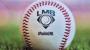 Pelota de la Liga Mexicana de Béisbol.