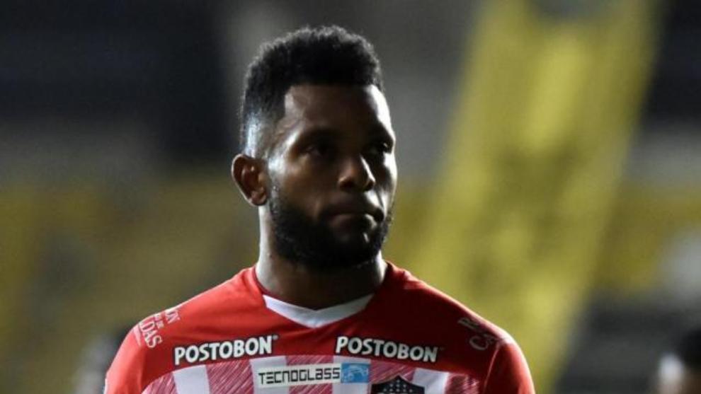 Miguel Ángel Borja, delantero de Junior de Barranquilla.