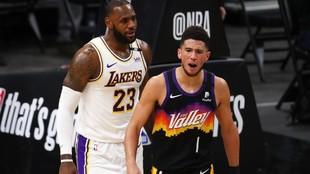 Devin Booker impone marca de puntos para un jugador de los Suns en su...