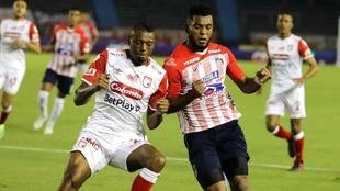 Santa Fe vs Junior por Copa Libertadores.