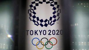 El logo de Tokyo 2020.