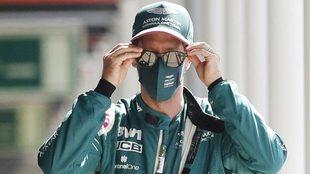 Sebastian Vettel, piloto de Aaton Martin.