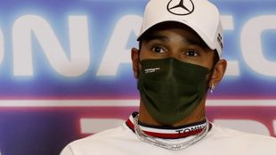 Lewis Hamilton, piloto de Mercedes.