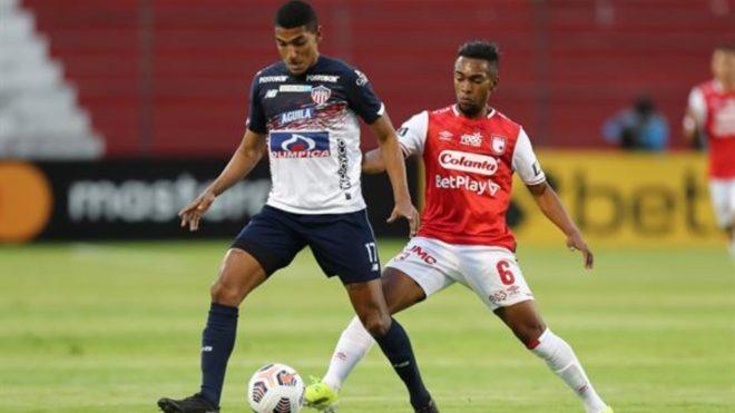 Santa Fe vs Junior por Libertadores.