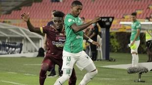 Cali vs Tolima de la Liga BetPlay Dimayor.